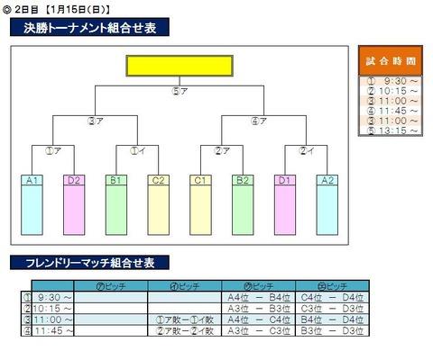 九州・沖縄大会_2日目対戦表