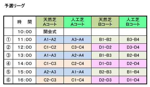 関東大会予選リーグ